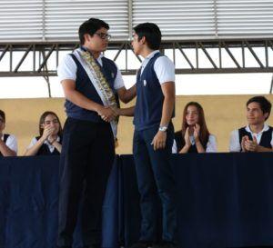 POSESIÓN DEL XIX CONSEJO ESTUDIANTIL 2018-2019
