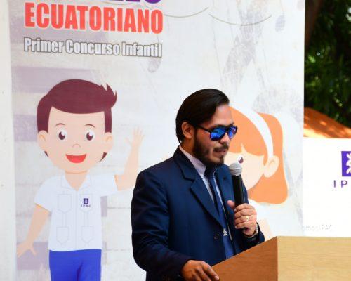 3. Palabras de apertura a cargo del Lcdo. AndrÇs Carrera, Director del Dpto. Educaci¢n Cultural y Artistica