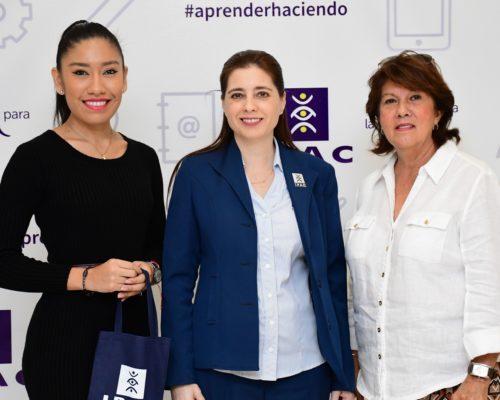 Marita Kayser e Ingrid Cede§o representantes de International Learning