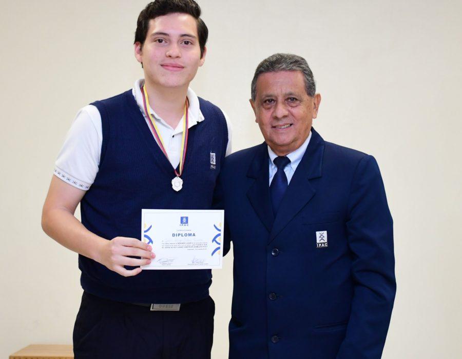 2do Lugar Juan Diego Ochoa