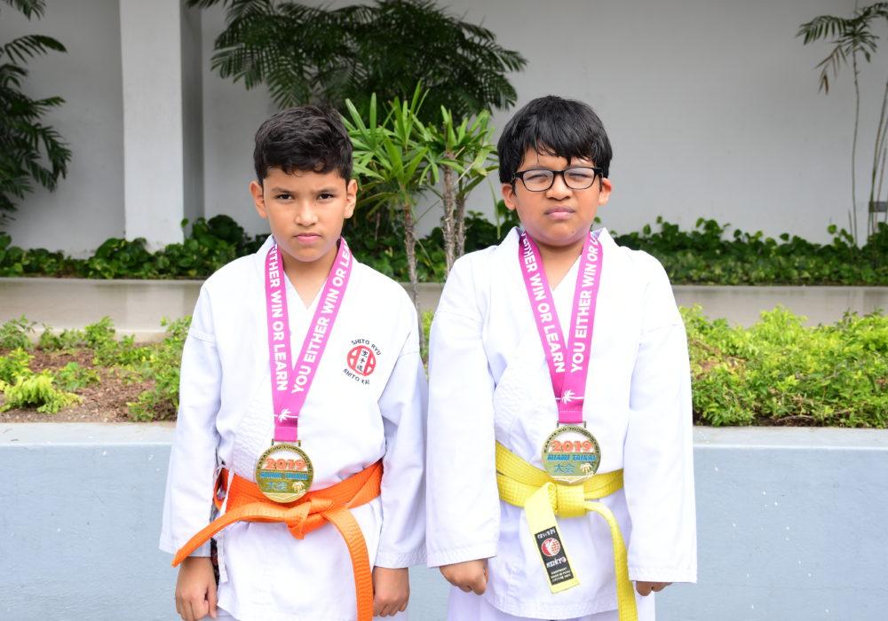 Ra£l Quevedo y Christian Guam†n 2 Medallas de ORO