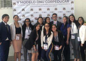 MODELO DE NACIONES UNIDAS - CORPEDUCAR 2019
