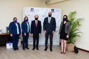 Visita de representantes de la Embajada de Francia en Ecuador
